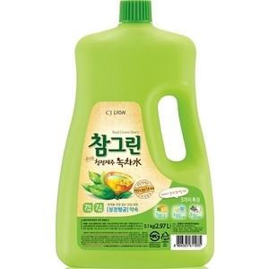Средство для мытья посуды и фруктов Lion CHAMGREEN Зеленый чай 2,97 л