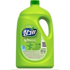 Средство для мытья посуды и фруктов Lion CHAMGREEN Зеленый чай 3,83 л