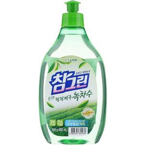 Средство для мытья посуды и фруктов Lion CHAMGREEN Зеленый чай 480 мл