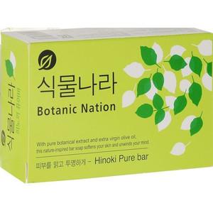 Туалетное мыло Lion Botanical Nation с экстрактом японского кипариса 100 г