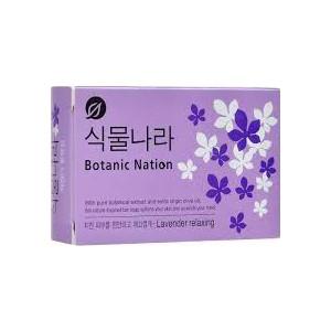 Туалетное мыло Lion Botanical Nation с экстрактом лаванды 100 г бальзам shamtu чистота и свежесть с экстрактом французской лаванды 200мл