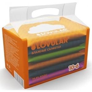 купить Влажные салфетки LOVULAR набор 6х10 шт по цене 189 рублей