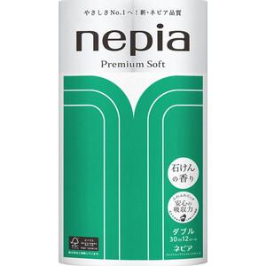 Туалетная бумага NEPIA Premium Soft с ароматом мыла 2 слоя 12 рулона