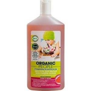Гель для мытья пола Organic People Эко универсальный 500 мл