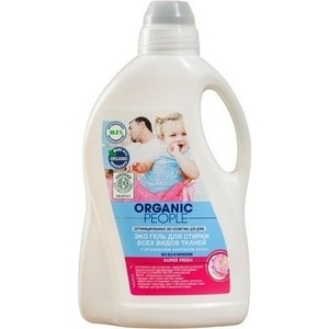 Гель для стирки Organic People Эко всех видов тканей 1,5 л