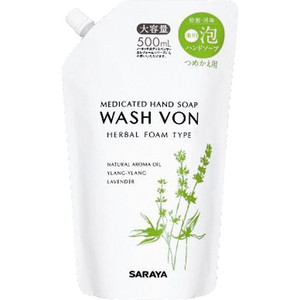 Жидкое мыло WASH VON пенящее 500 мл