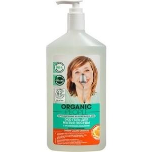 Гель для мытья посуды Organic People ЭКО Green clean Orange 500 мл