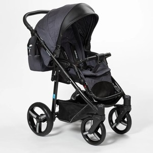 Коляска (Прогулочная) Mr Sandman Traveler Premium Сливовый - Черный прогулочная коляска mr sandman traveler premium коричневый кантри бежевый sl06