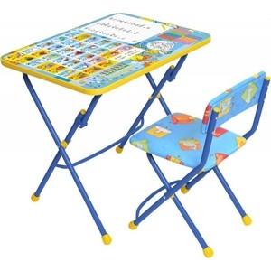 Комплект Ника Умничка 1 Стол-Стул Первоклашка осень комплект ника умничка 2 стол стул пушистая азбука