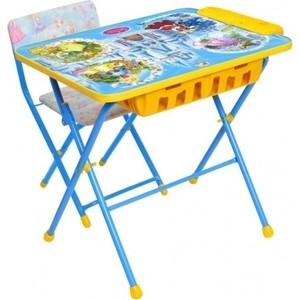 Комплект Ника Умничка 2П Стол-Стул Волшебный мир принцесс комплект стол стул ника маленькая принцесса