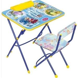 Комплект Ника Умничка 3 Стол-Стул Волшебный мир принцесс комплект стол стул ника маленькая принцесса