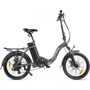 Велогибрид Cyberbike FLEX серо-черный - 022026-2099