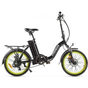 цена на Велогибрид Cyberbike FLEX черно-зеленый - 022026-2101