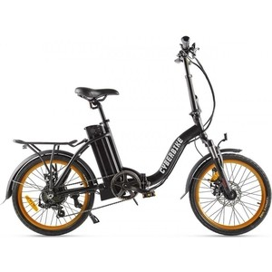 Велогибрид Cyberbike FLEX черно-оранжевый - 022026-2103