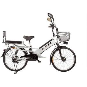 Велогибрид Eltreco e-ALFA GL gray - 010824-0276