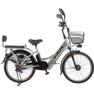 Велогибрид Eltreco e-ALFA gray - 010822-0277
