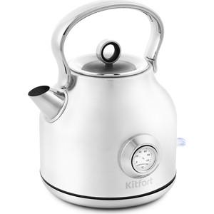 Чайник электрический KITFORT KT-673-1 чайник kitfort кт 673 1 белый