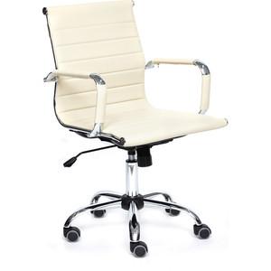 Кресло TetChair URBAN-LOW кож/зам, бежевый