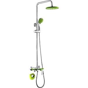 Душевая система Frap зеленый (F2433)