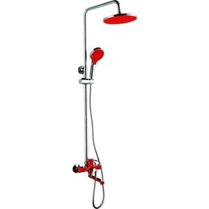 Душевая система Frap красный (F2443) цена и фото