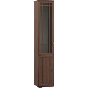 Шкаф-витрина Моби Марко 03.261 орех селект каминный