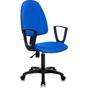 цена Кресло Бюрократ CH-1300N/BLUE синий престиж+15-10 онлайн в 2017 году