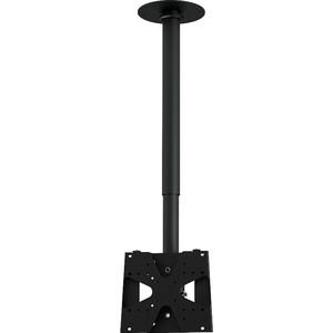 Кронштейн потолочный Allegri П-1/30 (1 ТВ), 300-400 мм, черный шагрень