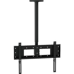 Кронштейн потолочный Allegri П-1/50 (1 ТВ), 800-1400 мм, черный шагрень