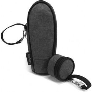 Термоупаковка универсальная BabyOno сумочка для пустышки (темно-серый) 5901435-406380