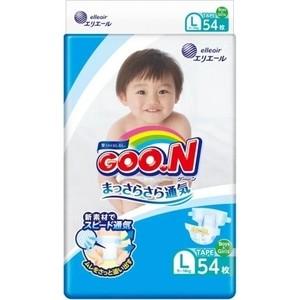 Подгузники Goon L (9-14 кг) 54 шт 4902011-751345 подгузники yokosun подгузники yokosun l 9 13 кг 54 шт