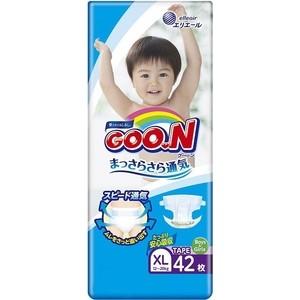 Подгузники Goon XL (12-20 кг) 42 шт 4902011-856248 цена в Москве и Питере