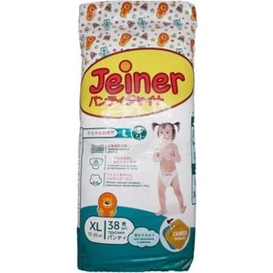 Подгузники трусики Jeiner XL (12-20кг) 38шт 4573726-789246 все цены