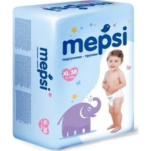 Подгузники трусики Mepsi размер XL (12-22 кг) 38 шт 4612735-970747