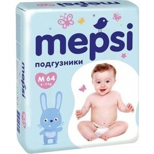 Подгузники трусики Mepsi с рельефным слоем M (6-11кг) 64 шт 4612735-970822