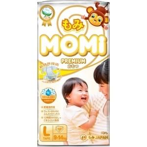 Подгузники Momi L ( 9-14 кг) 50 шт. 4573726-789284