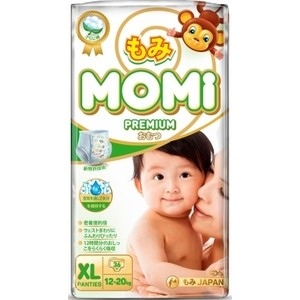 Подгузники трусики Momi XL ( 12-20 кг) 36 шт. 4573726-789307