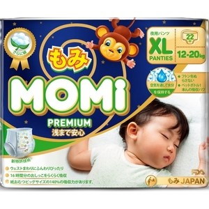Подгузники трусики Momi XL ( 12-20 кг) 22 шт. 4573726-789321