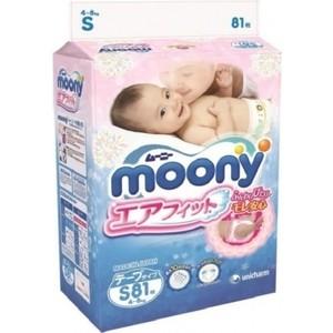 Подгузники Moony S (4-8 кг) 81 шт 4903111-243822
