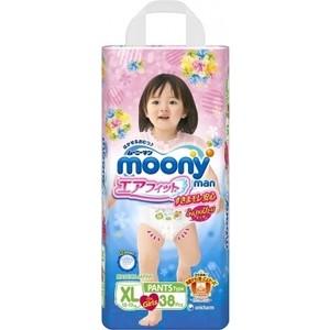 Трусики для девочек Moony MAN XL (12-22 кг) 38 шт 4903111-184712