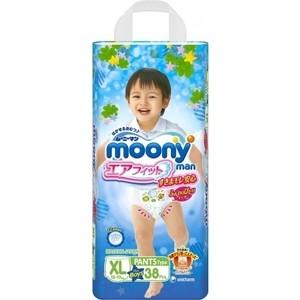 Трусики для мальчиков Moony MAN XL (12-22 кг) 38 шт 4903111-184675