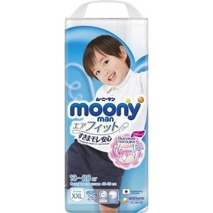 Трусики для мальчиков Moony MAN XXL (13-28 кг) 26 шт NEW 4903111-236305