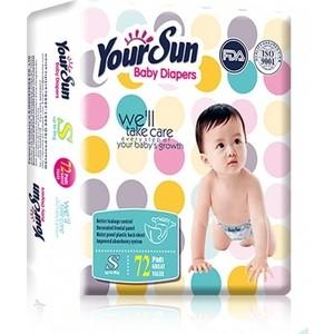 Подгузники YourSun S (4-6кг) 72 шт 6921603-285110 lacywear s 72 vln