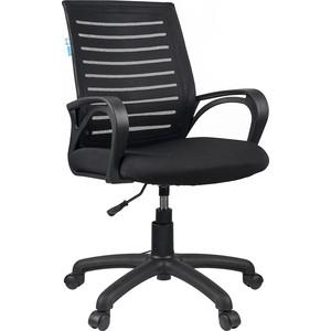 Кресло оператора Helmi HL-M16 Vivid ткань S черная/ TW черная