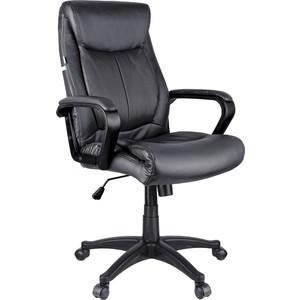 Кресло руководителя Helmi HL-E02 Income экокожа черная
