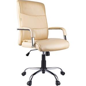 Кресло руководителя Helmi HL-E03 Accept экокожа бежевая