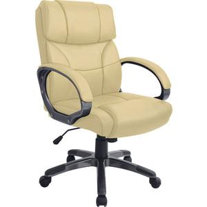 Кресло руководителя Helmi HL-E08 Receipt экокожа бежевая
