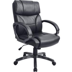 Кресло руководителя Helmi HL-E08 Receipt экокожа черная