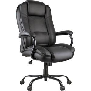 Кресло руководителя Helmi HL-ES01 Extra Strong повышенной прочности экокожа черная