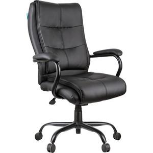 Кресло руководителя Helmi HL-ES02 Extra Strong повышенной прочности экокожа черная