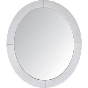 купить Зеркало навесное Мебелик Берже 24 белый ясень по цене 3630 рублей